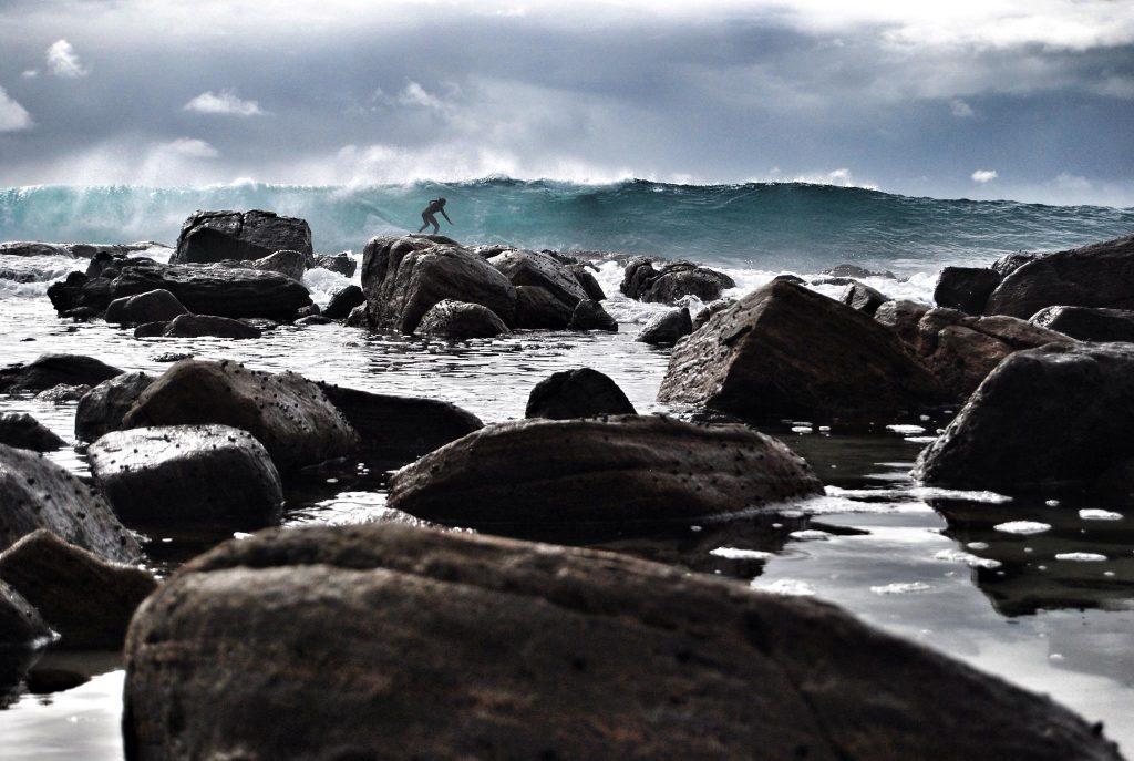 Surfing Margaret River