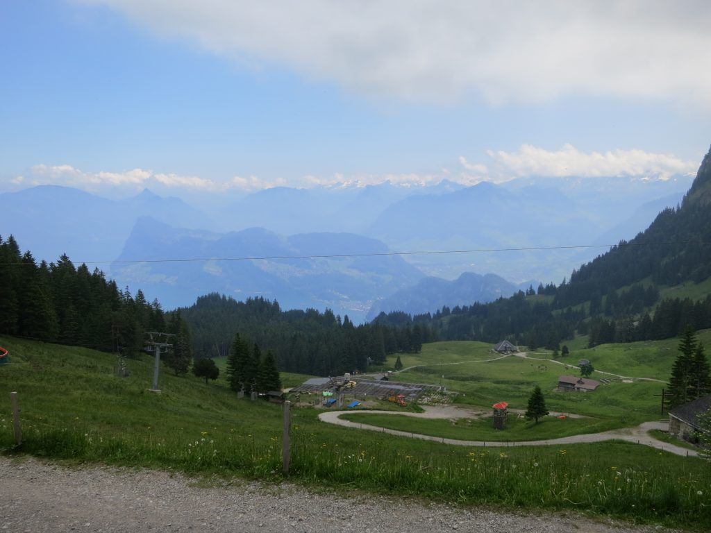 Bobsledding in Pilatus