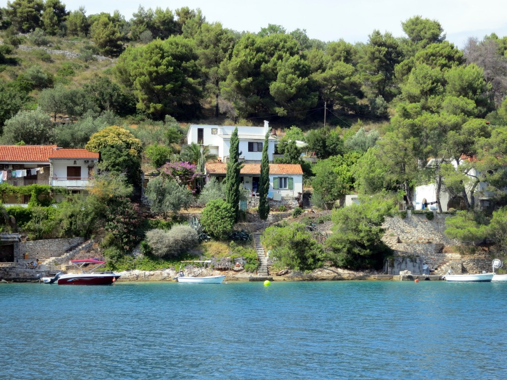 One of the less populated Croatian islands