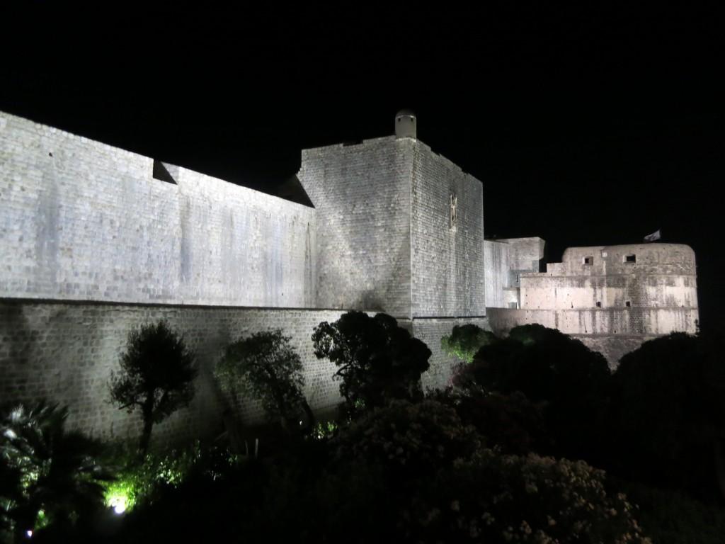 dubrovnik fortress walls