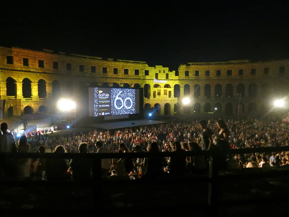 pula arena movie festival