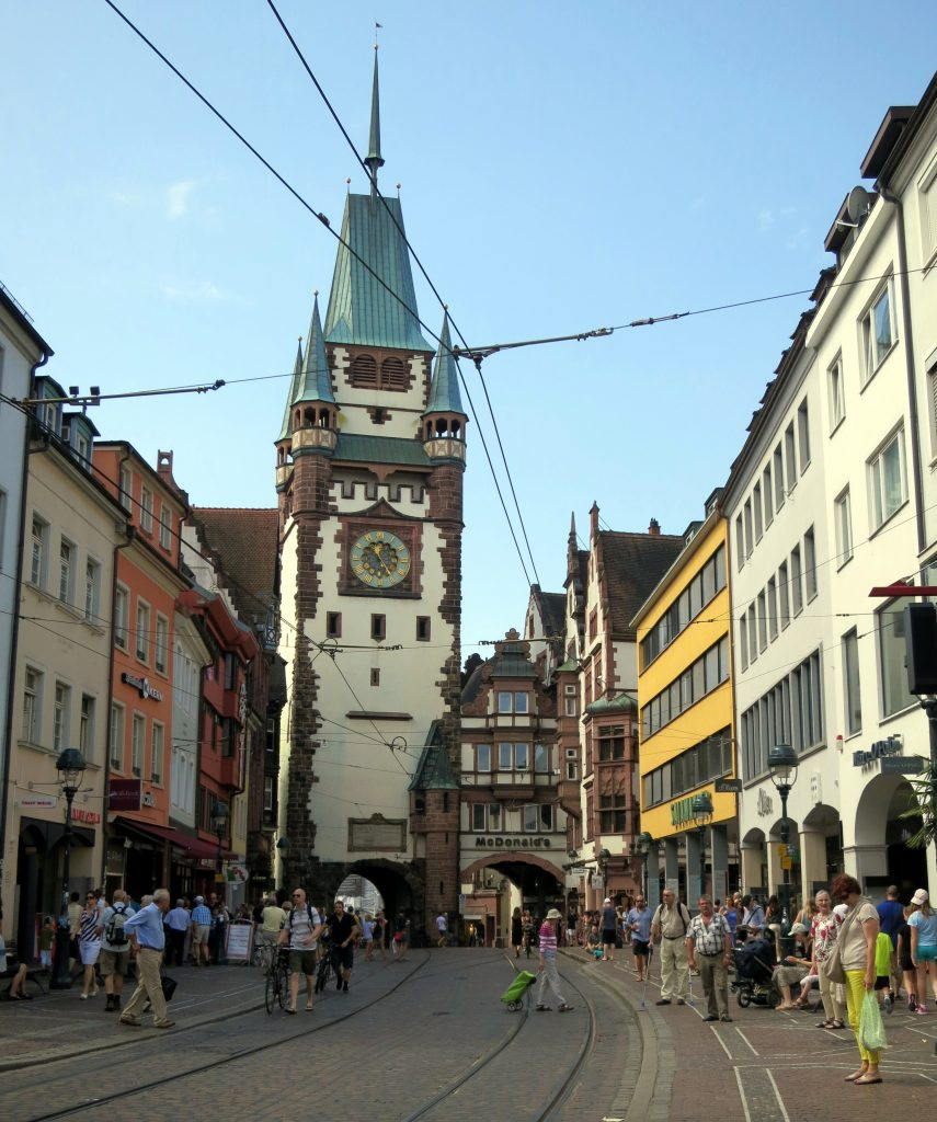 is that gargoyle mooning me in freiburg germany chantae was here