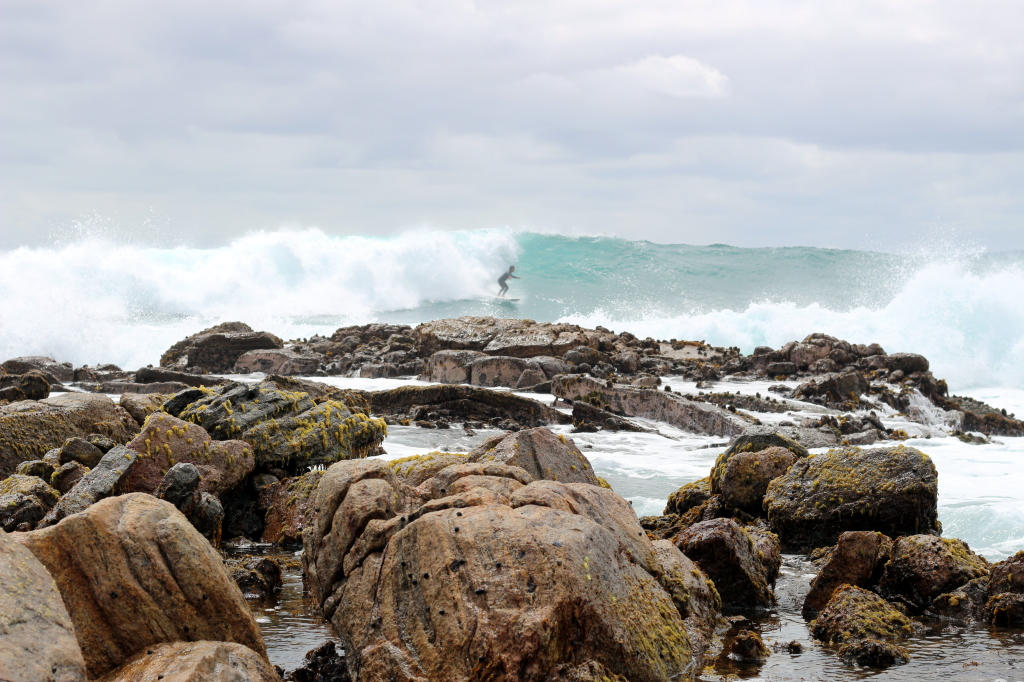 Surfer at Southpoint Margaret River