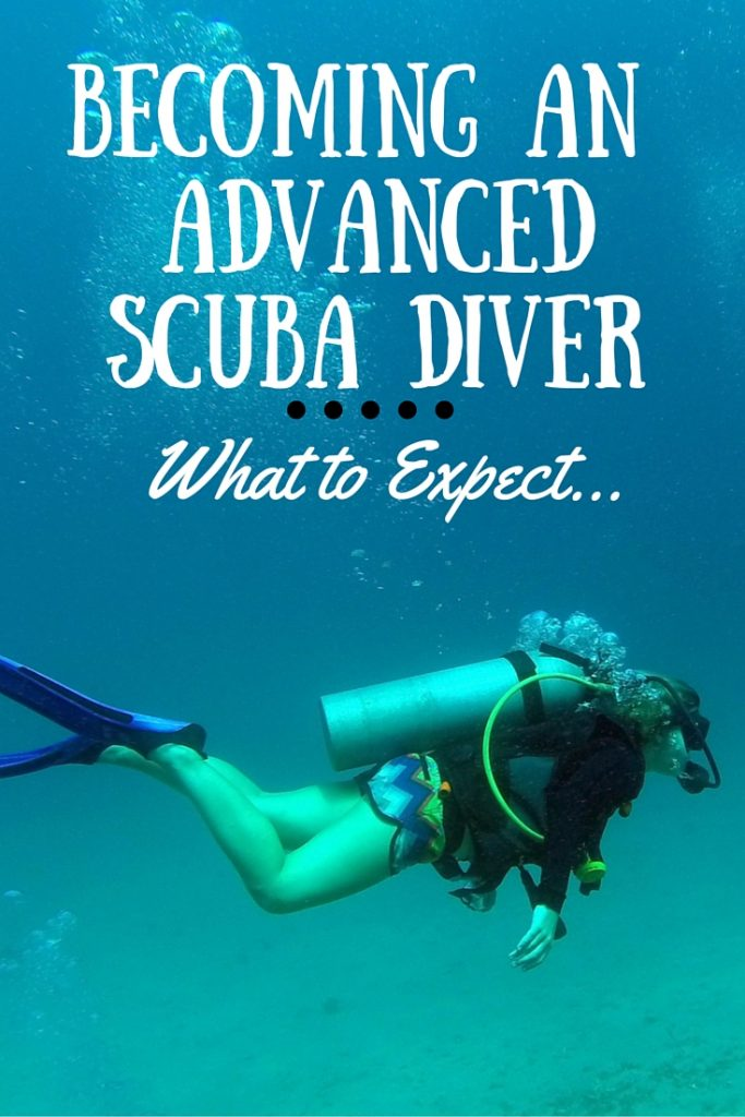 Thinking about becoming an advanced scuba diver? Here's what to expect in Koh Tao, Thailand.
