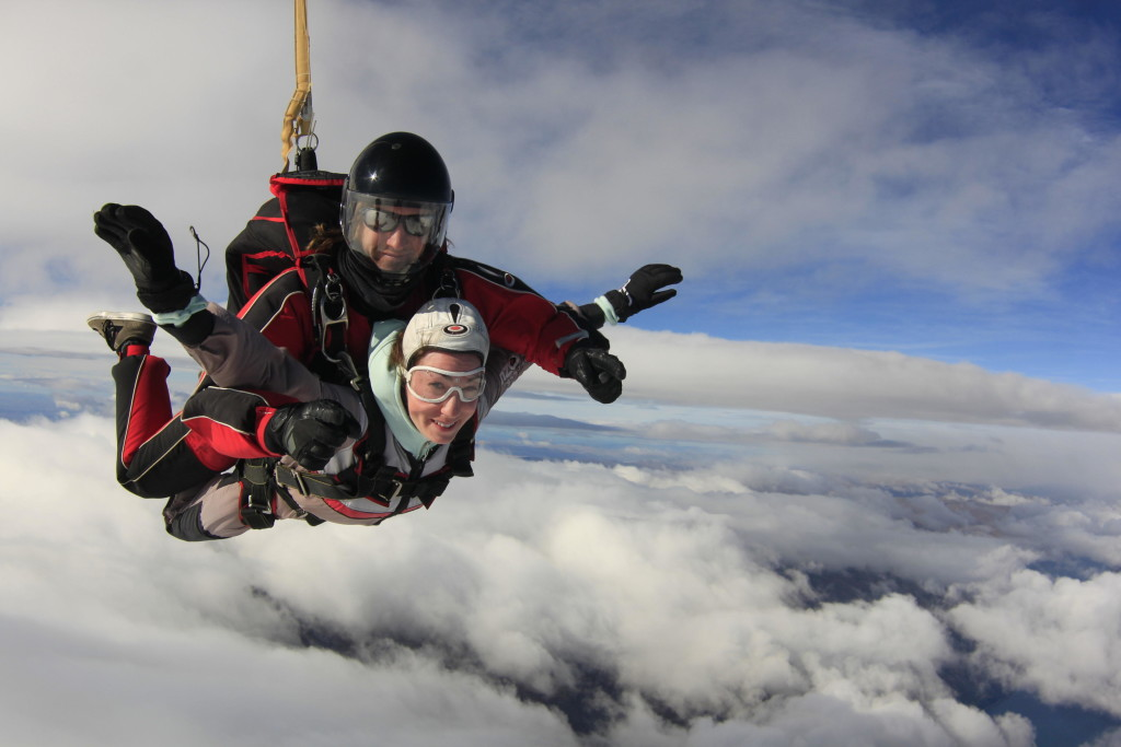 Alli Skydiving in Queenstown, NZ