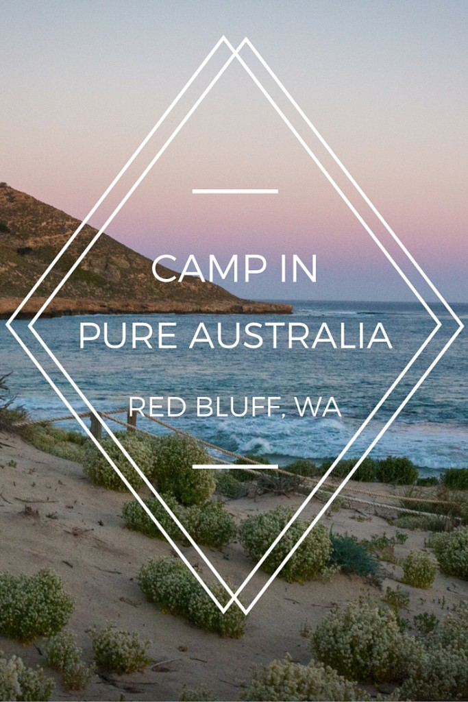 Red Bluff, Western Australia. A remote paradise and one of the most untouched regions in the world.