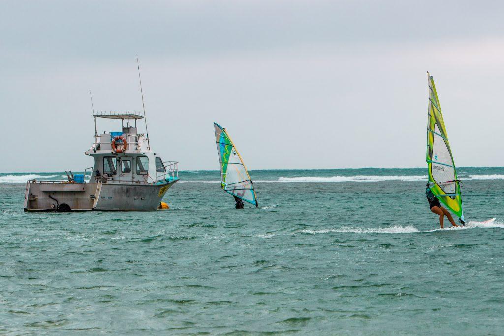 Cornations Windsurfers