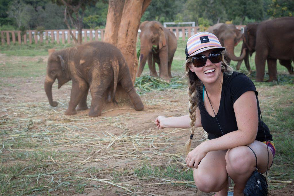 ElephantNatureParkBabyElephantSelfie2