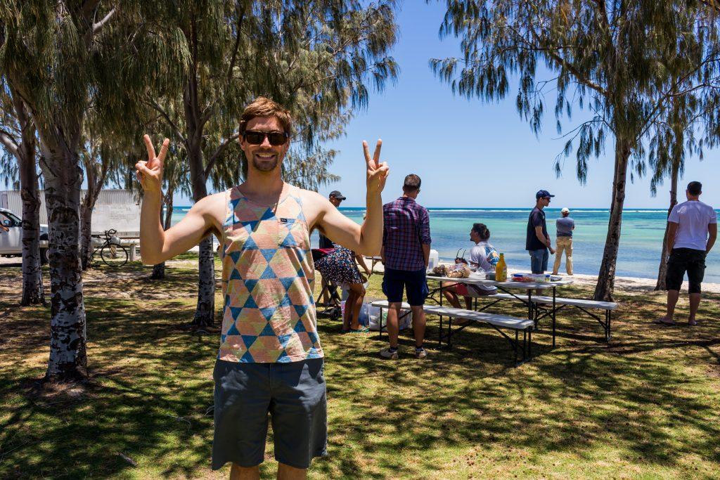Moritz in Lancelin, Western Australia