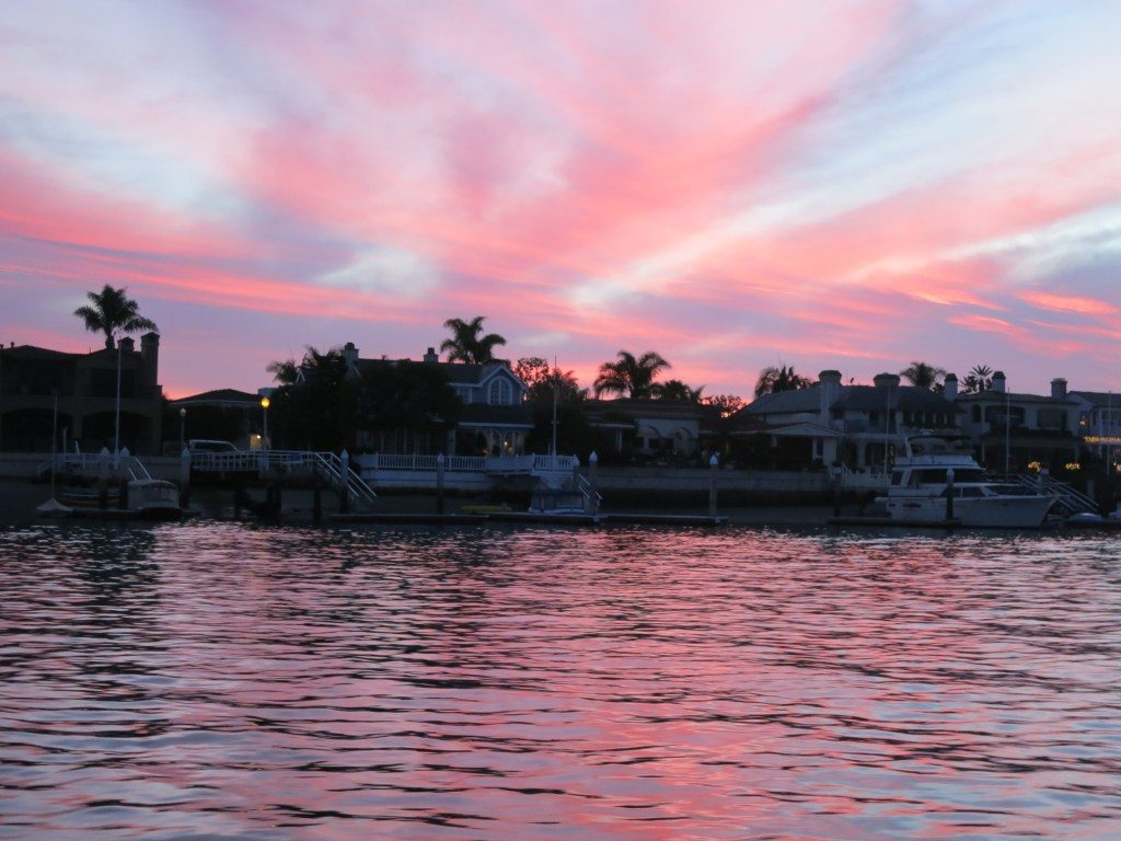 Costa Mesa is a short drive from stunning Newport Harbor