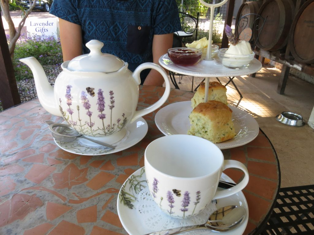 Cape Lavender tea yallingup