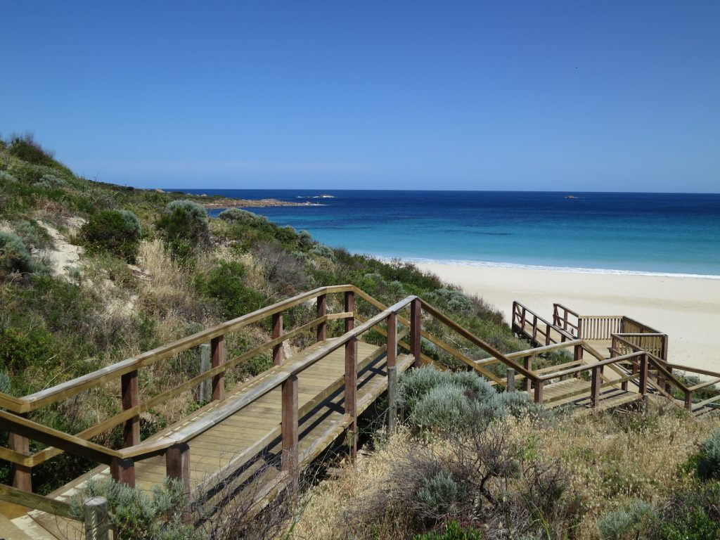 Smiths Beach walkway in Yallingup