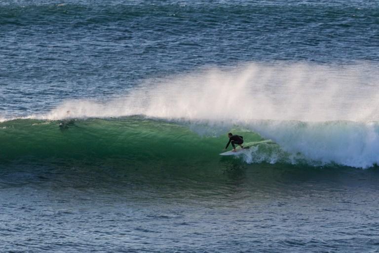 surfer at injidup beach