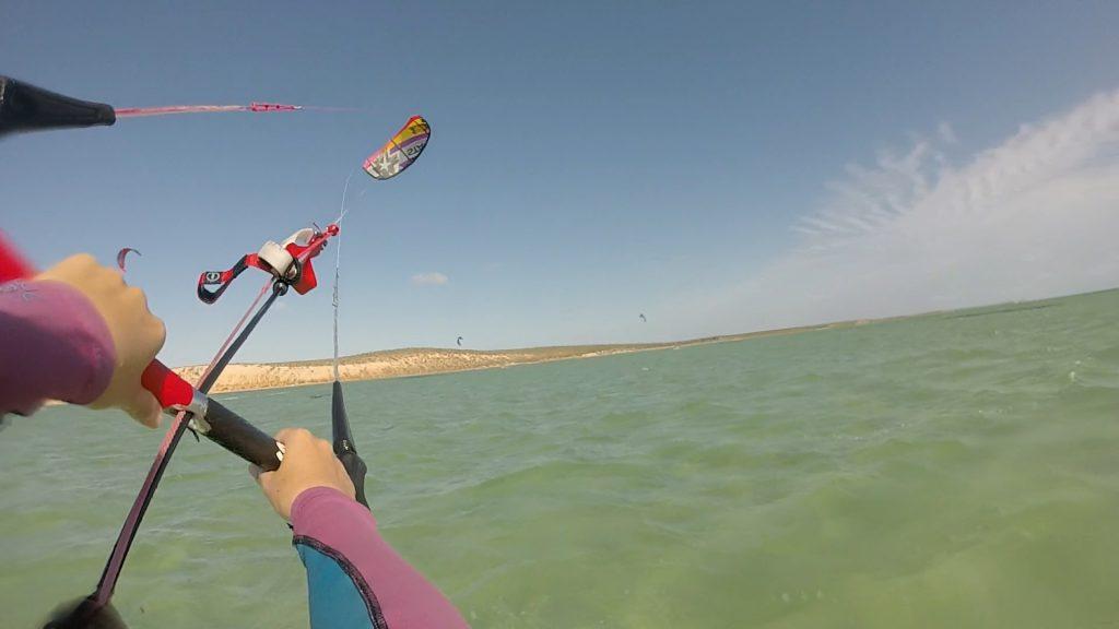SB Chantae POV kitesurfing