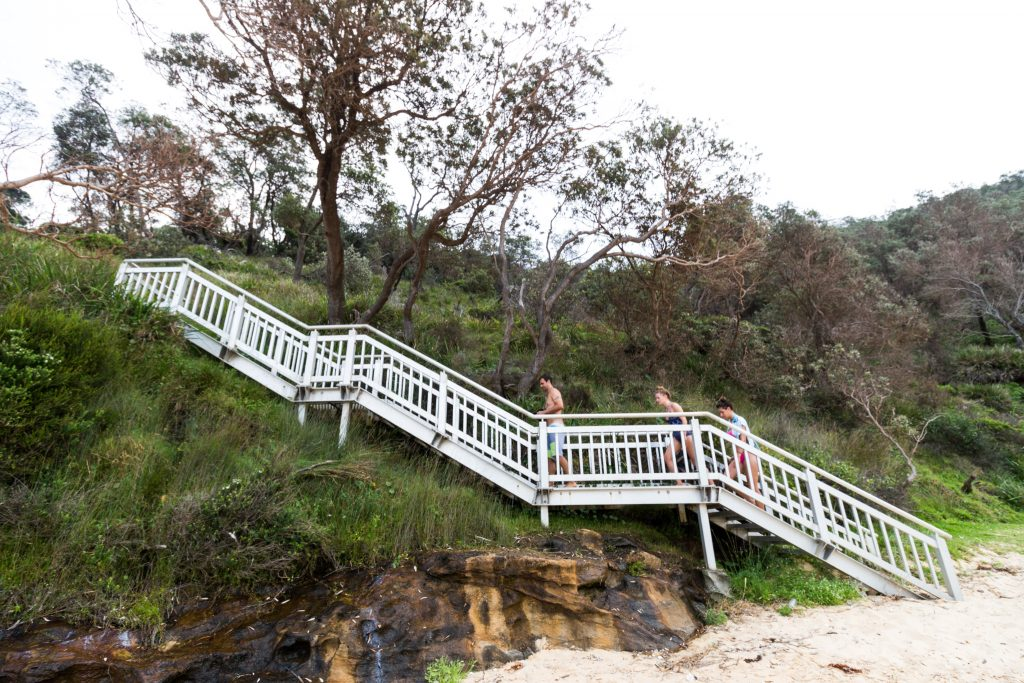 Steamers Beach Sydney Staircase