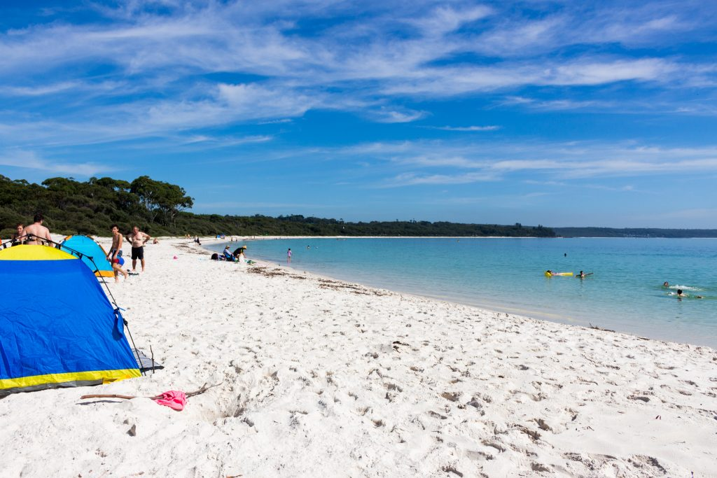 jervis bay swimming