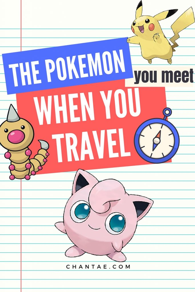Read through the list and see if you've met any of these Pokemon when you've traveled - and let me know if you have!