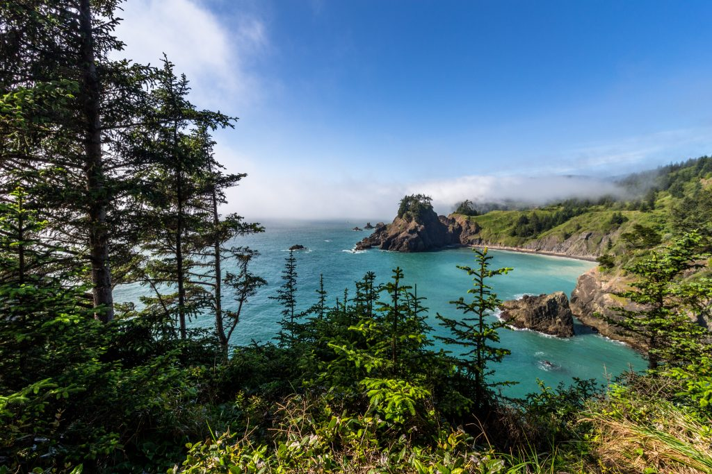 Arch Rock Viewpoint, Oregon