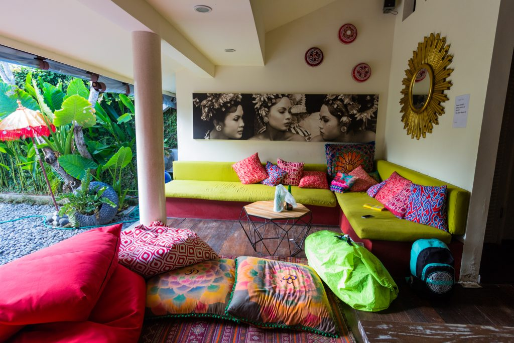 Lounge room of Karisa Pods