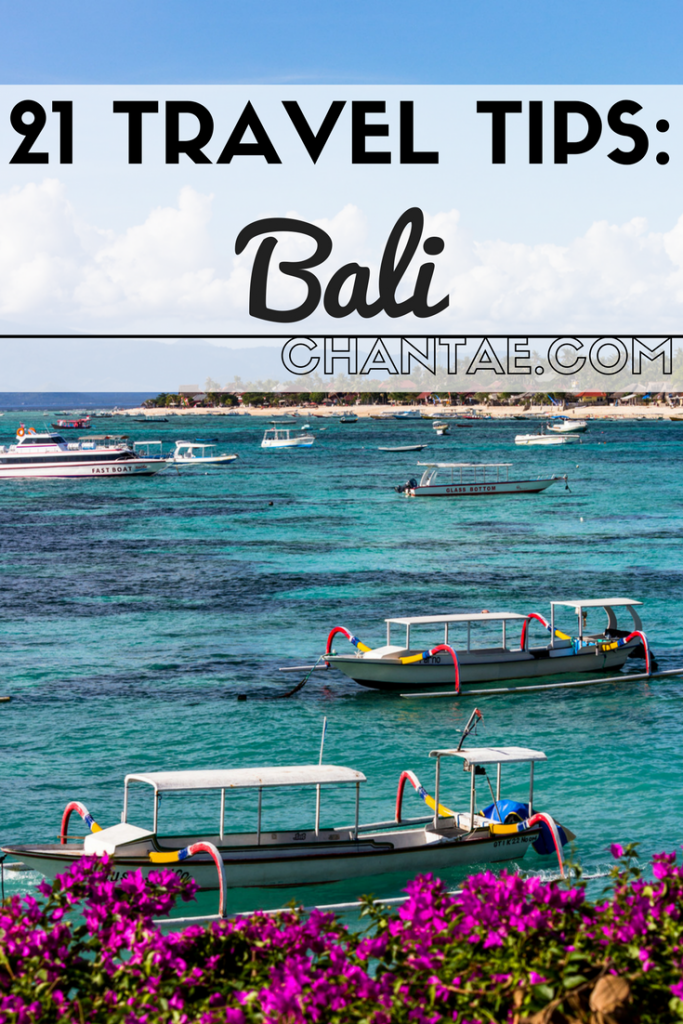 Top Bali travel tips and things you need to go before visiting Bali, Indonesia.