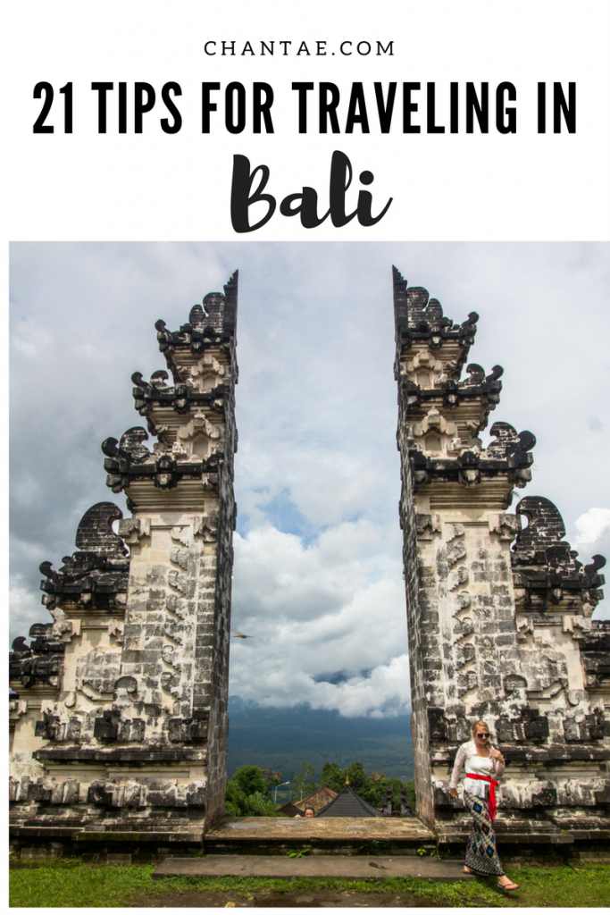 Travel tips you need to know before going to Bali, Indonesia