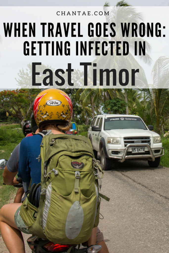 What happens when you contract a serious infection in East Timor? Medication is scarce and medical care is even harder to find. Read more about what it was like to have MRSA cellulitis in East Timor.