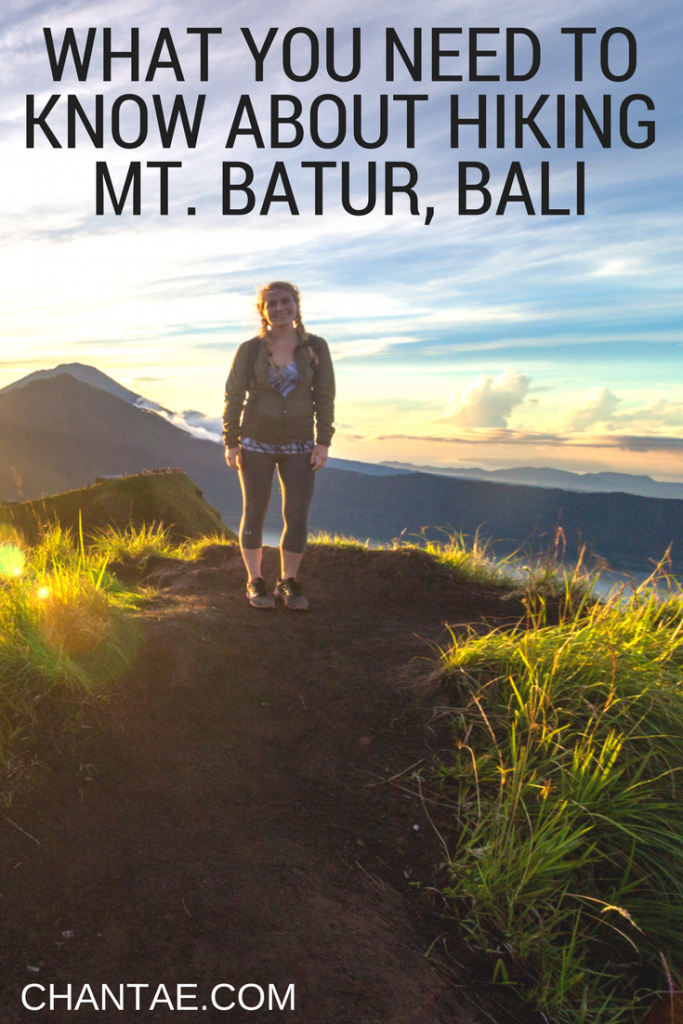 Tips for trekking Mount Batur in Bali including what to pack, which route to take, and other essentials you need to know.